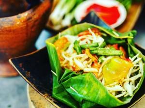 salát ze zelené papáji
