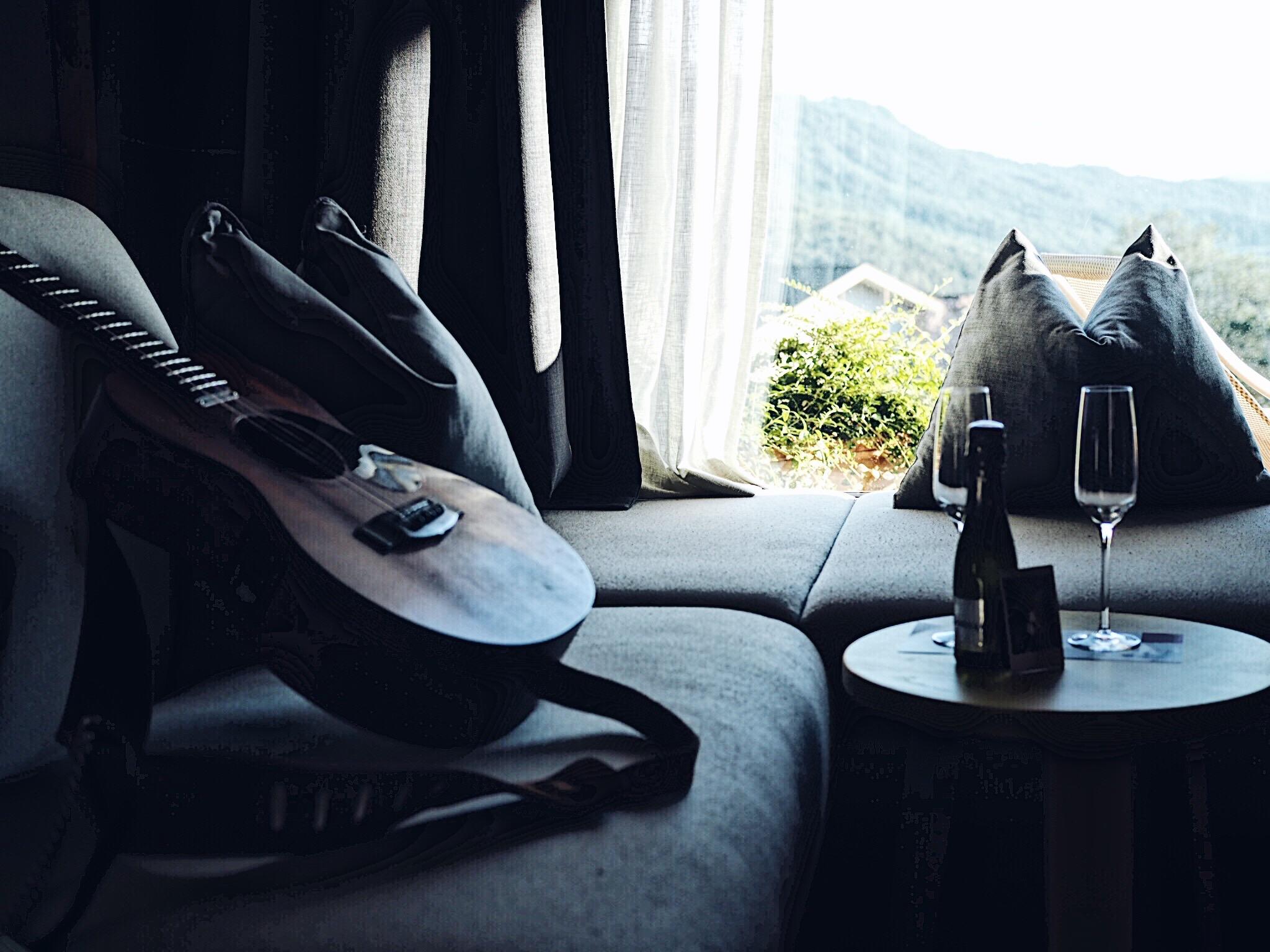Prosecco výhled a kytara - naše klasika